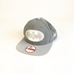 New Era Batman Gray Symbol 9Fifty Snapback Hat